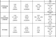 [23 - 28 MAR] Exámenes 1º Bachillerato - 2ª evaluación